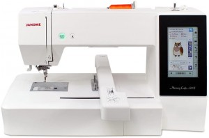 Hafciarka JANOME MC500E + program Janome Digitizer MBX