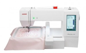 JANOME MC400E + program Janome Digitizer MBX